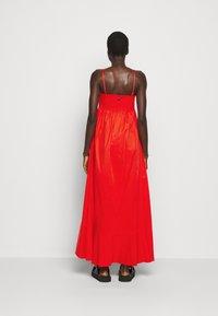 TWINSET - ABITO BUSTINO LUNGO - Maxi dress - corallo - 2