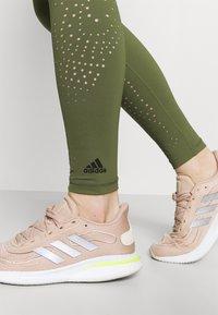 adidas Performance - Leggings - olive - 4