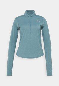 Under Armour - STREAKER HALF ZIP - T-shirt de sport - lichen blue - 4