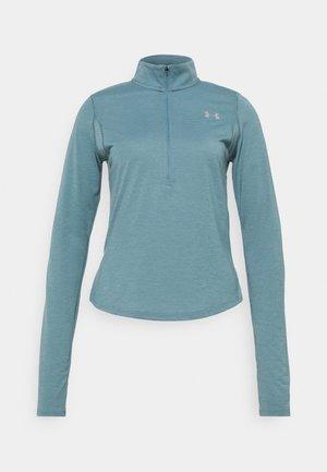 STREAKER HALF ZIP - Funkční triko - lichen blue