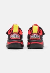 adidas Performance - FORTARUN SUPERHERO UNISEX - Chaussures de running neutres - core black/footwear white/vivid red - 2