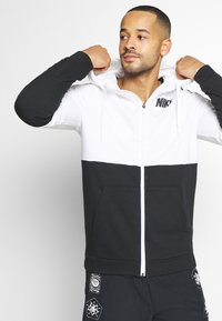 Nike Performance - DRY  - veste en sweat zippée - white/black - 4