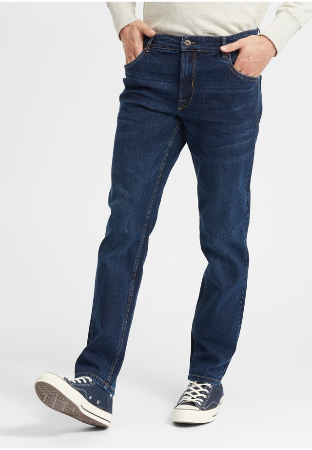 PIRKO - Straight leg jeans - dark blue denim