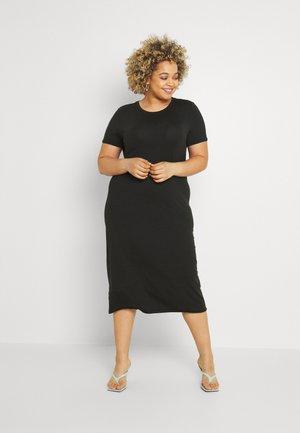 VMGAVA DRESS CURVE - Žerzejové šaty - black