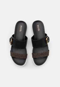 MICHAEL Michael Kors - BO SLIDE - Pantofle - black - 4
