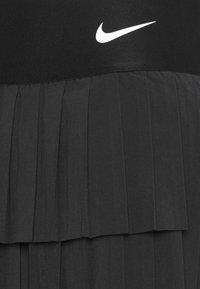Nike Performance - SKIRT PLEATED - Sports skirt - black/white - 2