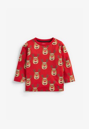 REINDEER  - Long sleeved top - red