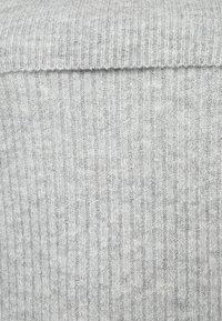 Zalando Essentials Curvy - Strikpullover /Striktrøjer - mottled light grey - 5