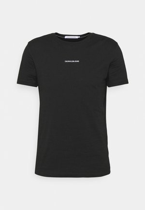 MICRO BRANDING ESSENTIAL TEE - T-shirt basic - black