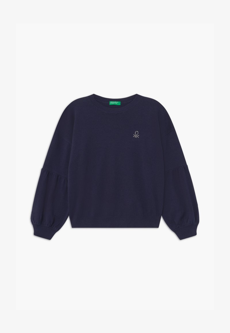 Benetton - BASIC GIRL - Strikpullover /Striktrøjer - dark blue