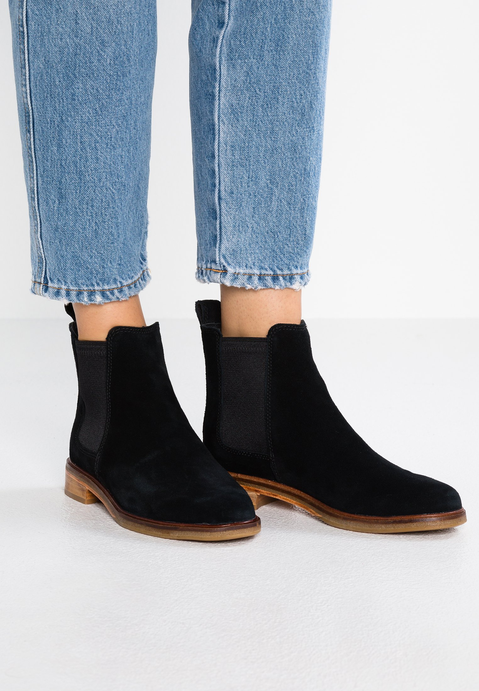 Clarks Clarkdale Arlo Dames Zwart Schoenen kopen