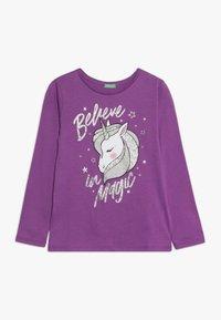 Benetton - LONG SLEEVES  - Långärmad tröja - purple - 0