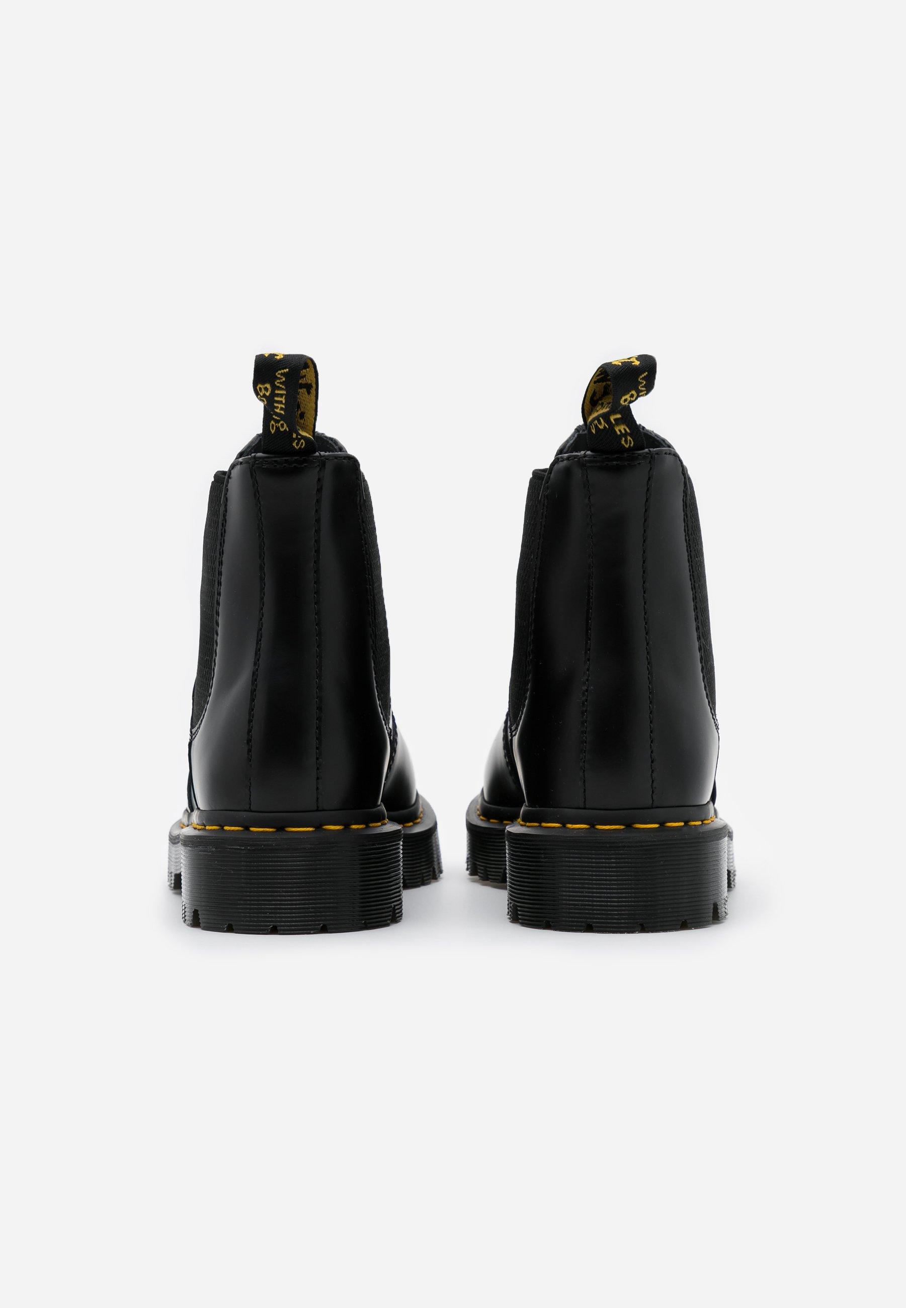 Dr. Martens 2976 Bex - Støvletter Black Smooth/svart