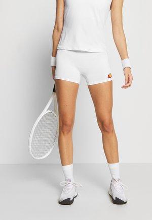 CHRISSY - Pantalón corto de deporte - white