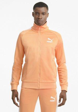 Training jacket - peach cobbler
