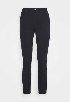 SLIM PANT - Spodnie materiałowe - black/black