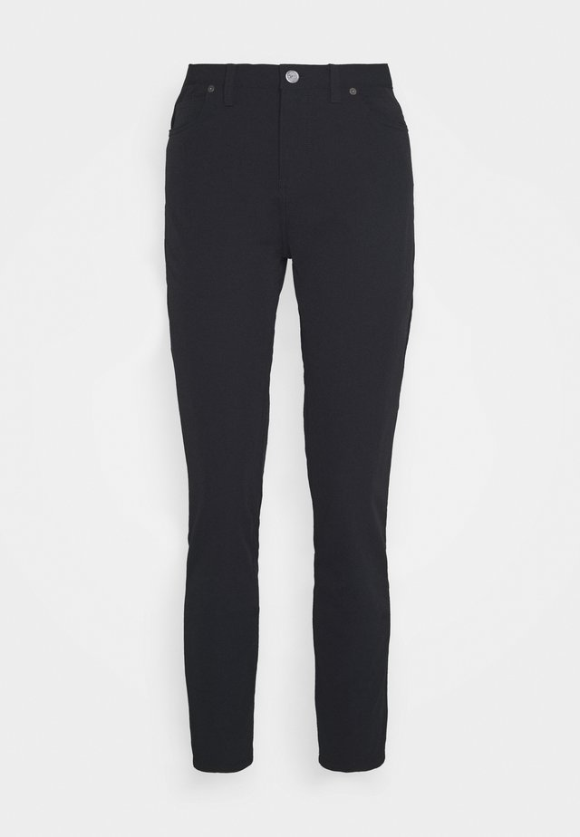 SLIM PANT - Trousers - black/black