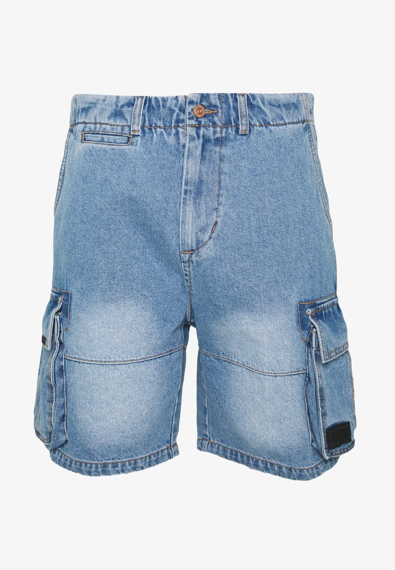 Grimey - YANGA  - Denim shorts - light blue