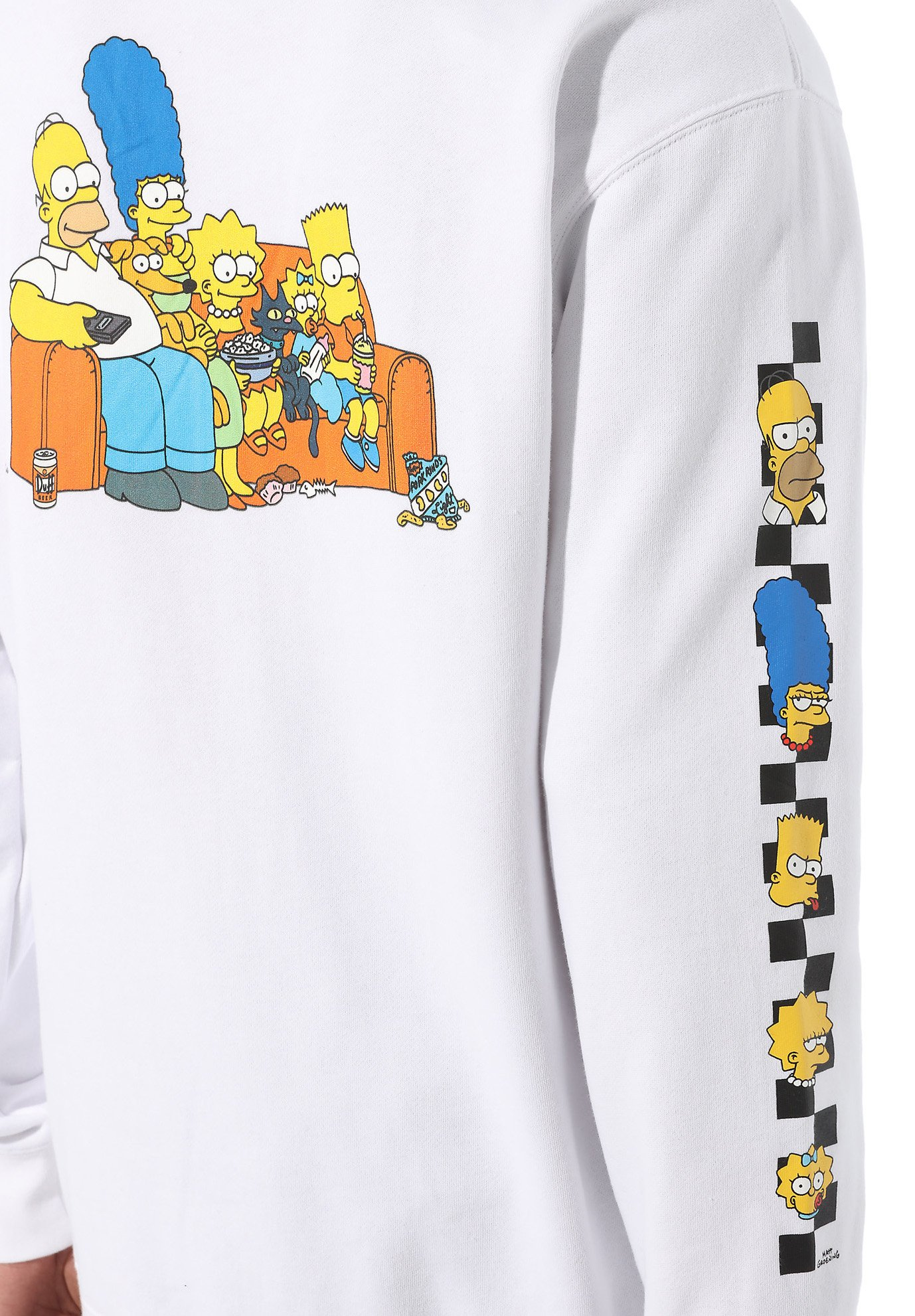 Vans The Simpsons Family Po - Hoodie (the Simpsons)