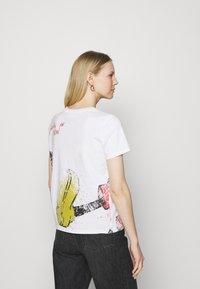 Desigual - MICKEY - T-shirt imprimé - white - 2