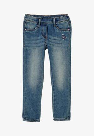 TREGGINGS MIT WARMER INNENSEITE - Slim fit jeans - blue