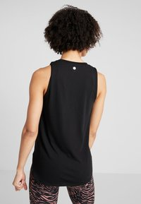 Cotton On Body - ACTIVE CURVE HEM TANK - Top - black - 2