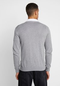 Esprit - BUTTON CARD - Cardigan - grey - 2