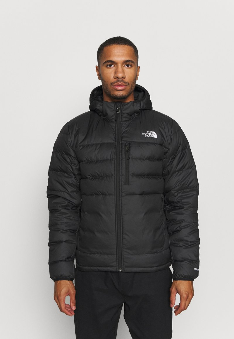 The North Face - ACONCAGUA HOODIE - Down jacket - black