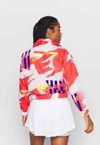 Nike Performance - JACKET - Training jacket - white/solar red/citrus/ultramarine - 2