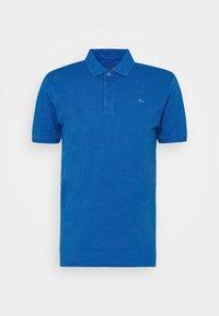 Polo shirt - azure blue/paper green