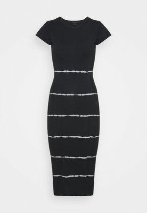 NIKO TYSTRIPE DRESS - Day dress - black