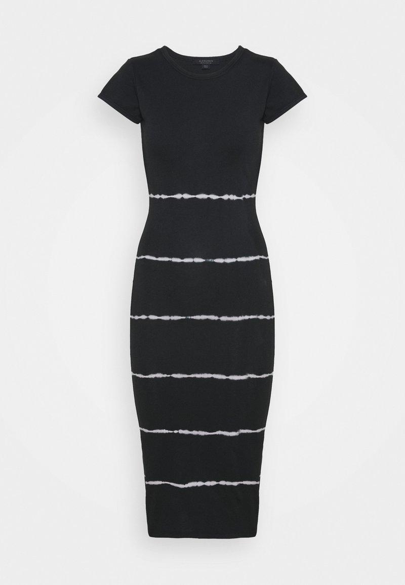 AllSaints - NIKO TYSTRIPE DRESS - Day dress - black