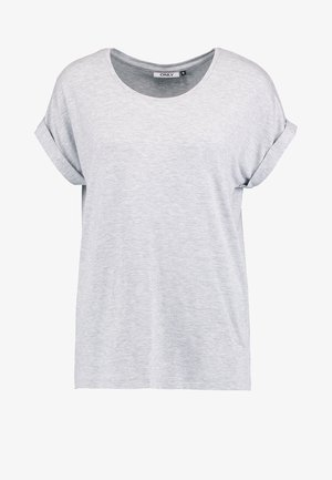 ONLMOSTER ONECK - T-shirts - light grey melange