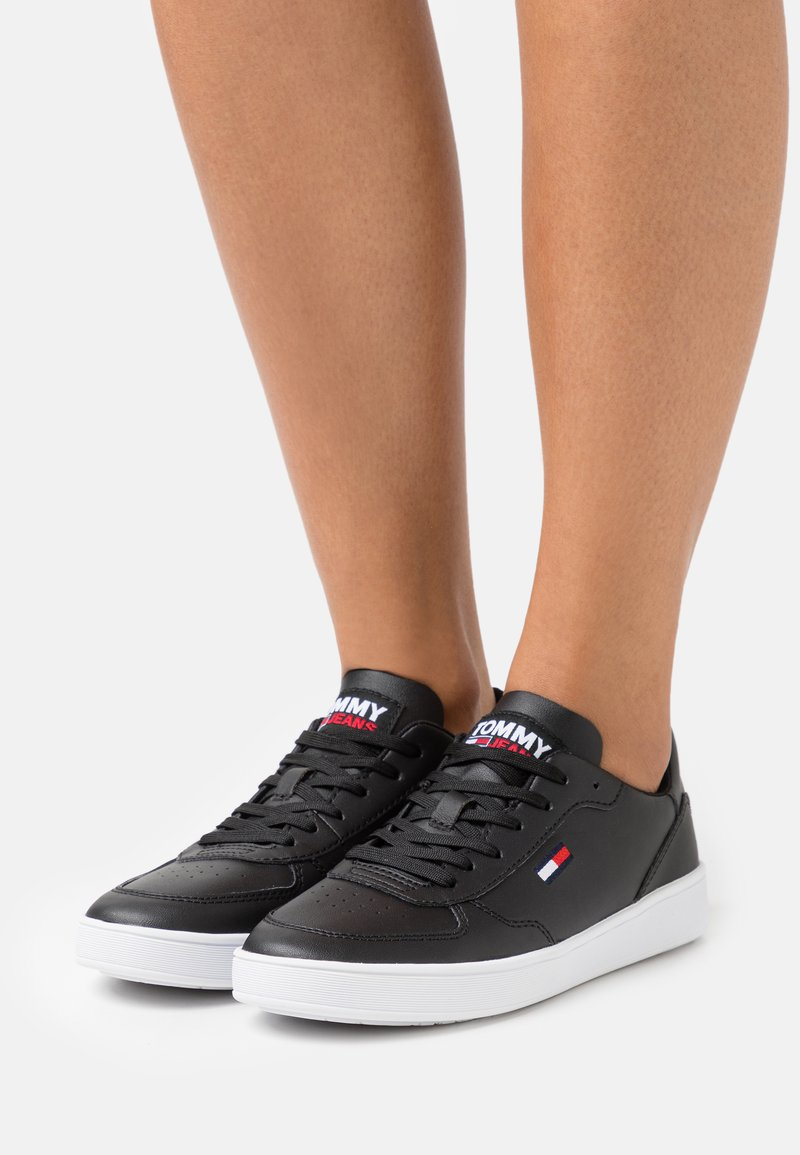 Tommy Jeans - CUPSOLE - Sneakers - black