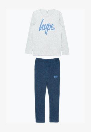 Pyjama set - grey/navy