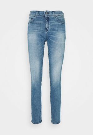 FAABY - Slim fit jeans - medium blue