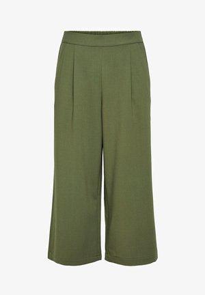 ONLCAISA  - Trousers - dark green