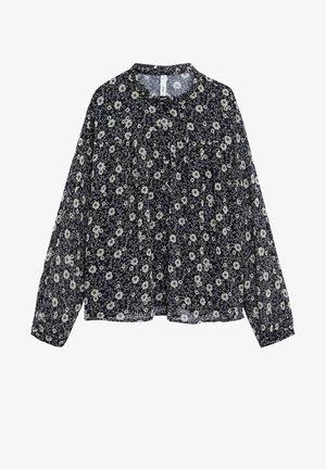ELISA - Button-down blouse - schwarz