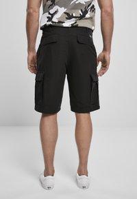 Brandit - BDU RIPSTOP - Shorts - black - 2