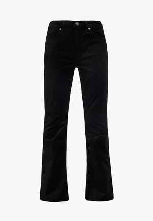 GEORGIA HIGH RISE  - Trousers - black