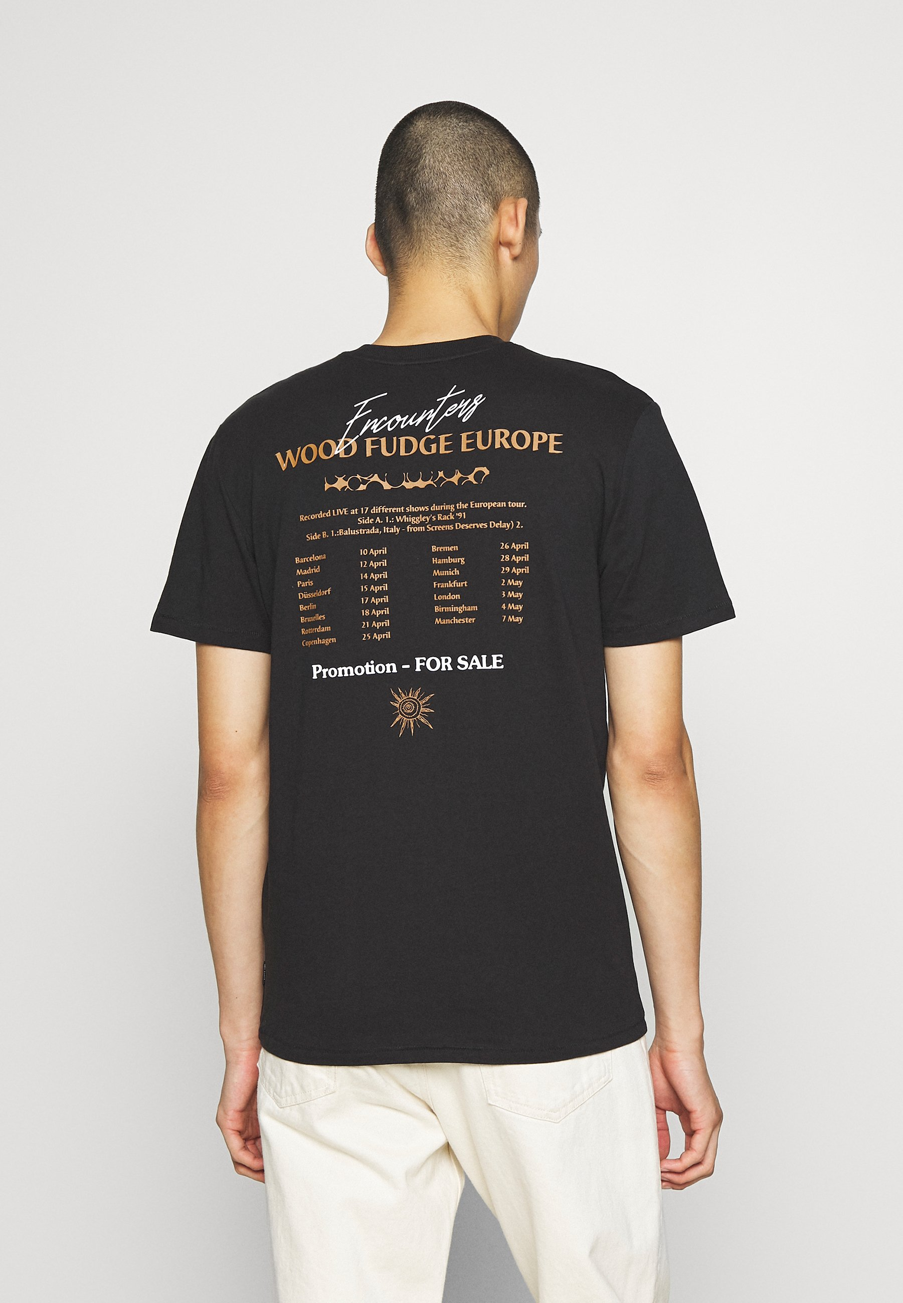 Only & Sons ONSJENS LIFE TEE - Print T-shirt - black Quoht