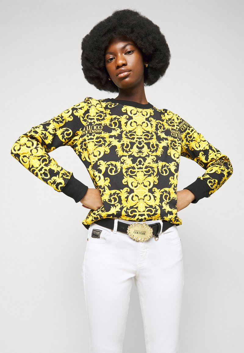 Versace Jeans Couture - RODEO BUCKLE - Pásek - nero