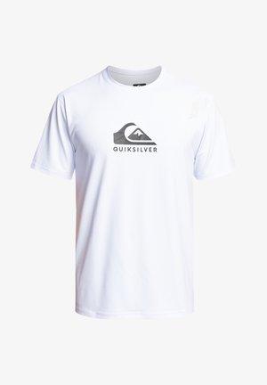 SOLID STREAK  - Sportshirt - white