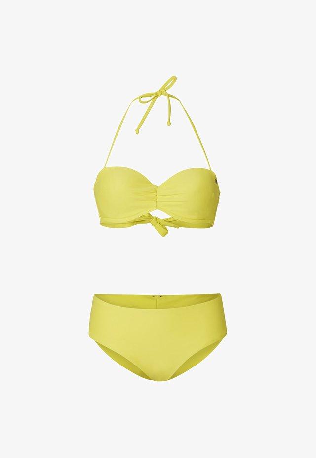 HAVAA MALTA SET - Bikini - limonata