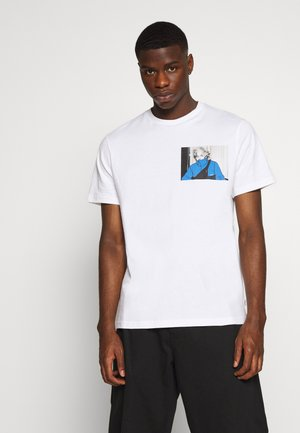 ONESTONE PHOTO TEE - Print T-shirt - white