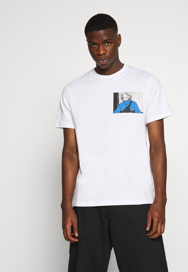 ONESTONE PHOTO TEE - T-shirt imprimé - white
