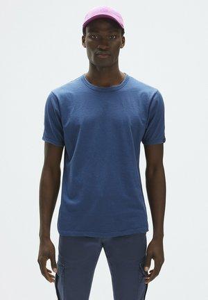Basic T-shirt - dark-blue denim