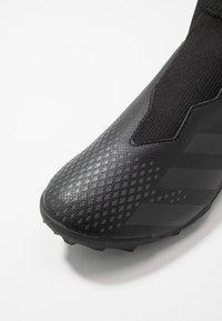 adidas Performance - PREDATOR 20.3 LL TF - Astro turf trainers - core black/dough solid grey - 2