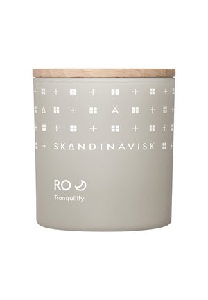 SCENTED CANDLE WITH LID - Scented candle - ro
