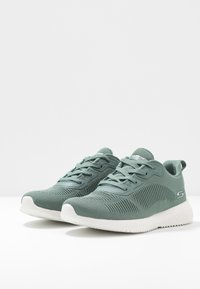 Skechers Sport - BOBS SQUAD - Trainers - green - 4